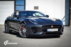 Jaguar f-type  lakkbeskyttelsesfilm Scandiano_
