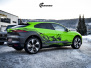 Jaguar I-Pace helfoliert i Gloss Light Green fra 3M, Black Diamond Black fra PWFack fra PWF