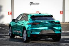 Jaguar I-PACE helfoliert i Turquoise Super Chrome fra Hexis-5