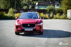 Jaguar I-PACE helfoliert med lakkbeskyttelsesfilm fra STEK-10