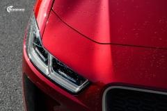 Jaguar I-PACE helfoliert med lakkbeskyttelsesfilm fra STEK-14