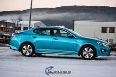 Kia Optima foliert i Ocean Blue-10