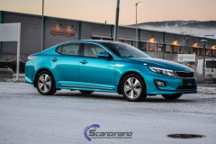 Kia Optima foliert i Ocean Blue-11