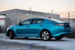 Kia Optima foliert i Ocean Blue-2