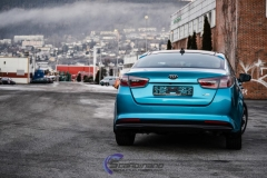 Kia Optima foliert i Ocean Blue-7