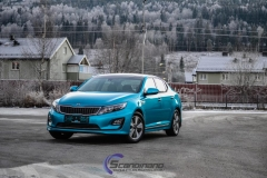 Kia Optima foliert i Ocean Blue-9