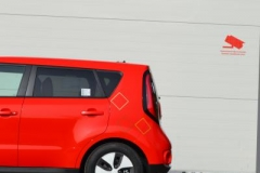 Kia Soul foliert i gloss red-7