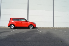 Kia Soul foliert i gloss red-8
