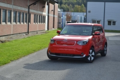 Kia Soul foliert i gloss red