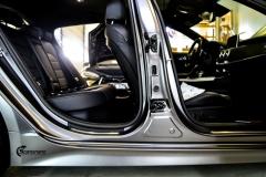 KIA STINGER GT helfoliert i Satin Dark Grey fra 3M-11