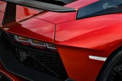 Lamborghini Aventador helfoliert med CC 4115 Rubby Red fra PWF-13