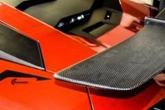 Lamborghini Aventador helfoliert med CC 4115 Rubby Red fra PWF-5