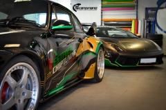 Lamborghini Gallardo og Porsche 911-17