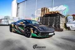 Lamborghini Gallardo og Porsche 911-4