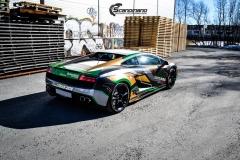 Lamborghini Gallardo og Porsche 911-7