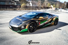 Lamborghini Gallardo og Porsche 911-9