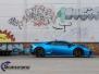 Lamborghini Huracan foliering matt blue chrome