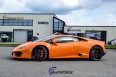Lamborghini-Huracan-foliert-med-gjennomsiktig-besk.-folie