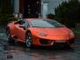 Lamborghini Huracan helfoliert med flexchrome copper fra mactac