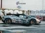 Lamborghini Spyder custom design wrap by Scandinano