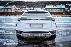 Lamborghini Urus helfoliert med Satin Frozen Vanilla-16