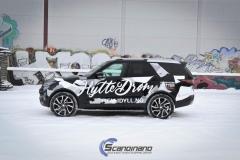 Land Rover Discovery delfoliert med utskåret folie.-0178