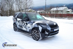 Land Rover Discovery delfoliert med utskåret folie.-0186