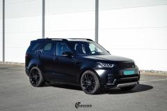 Land Rover Discovery helfoliert i matt lakkbeskyttelsesfilm fra STEK (2 из 12)