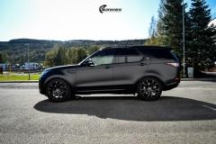 Land Rover Discovery helfoliert i matt lakkbeskyttelsesfilm fra STEK (7 из 12)