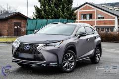 Lexus NX foliert med grey