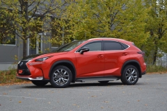 Lexus foliert Cherry Red metallic-12