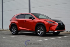 Lexus foliert Cherry Red metallic-3