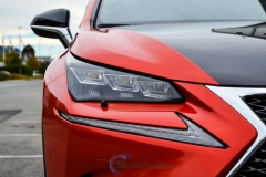 Lexus foliert Cherry Red metallic-4