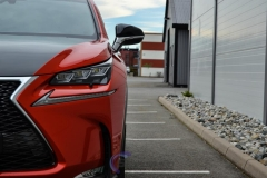 Lexus foliert Cherry Red metallic-5