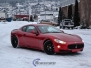 Maserati foliert med gloss dragon red 3m