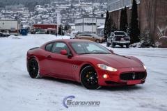 Maserati camo military print foliaring