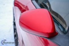 Maserati foliert i gloss dragon red 3m-8