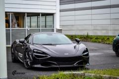 McLaren helfoliert med lakkbeskyttelsesfilm fra STEK-5