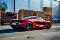 McLaren helfoliert med lakkbeskyttelsesfilm fra STEK-11