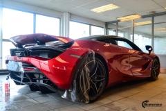 McLaren helfoliert med lakkbeskyttelsesfilm fra STEK-2
