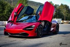 McLaren helfoliert med lakkbeskyttelsesfilm fra STEK-4