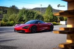 McLaren helfoliert med lakkbeskyttelsesfilm fra STEK-7