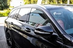 Mercedes AMG Chrome delete og Solfilm