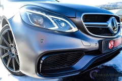 Mercedes AMG foliert i satin grey-10