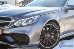 Mercedes AMG foliert i satin grey-2