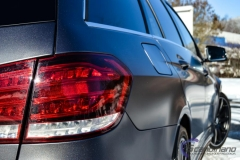 Mercedes AMG foliert i satin grey-4