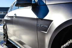 Mercedes AMG foliert i satin grey-9