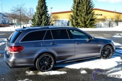Mercedes AMG foliert i satin grey-5