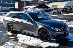 Mercedes AMG foliert i satin grey-7