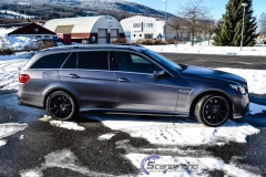 Mercedes AMG foliert i satin grey-8